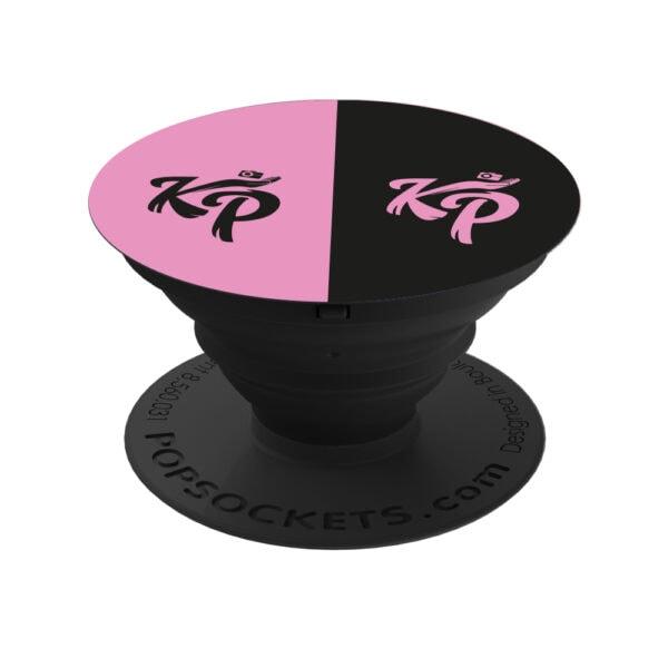 Enzo Knol popsocket KP roze en zwart officiële webshop